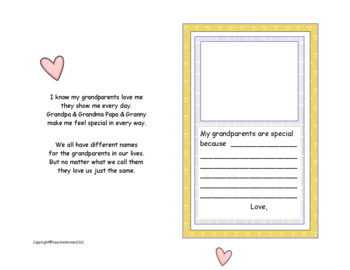 Grandparents Are Special-Celebrate Grandparents Day