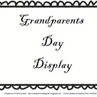 Grandparent's Day Display