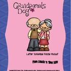 Grandparents Day Puzzle Packet: Word Creator