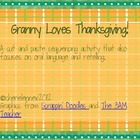 Granny loves Thanksgiving *FREEBIE*