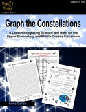 Graph the Constellations (coordinate graphing, ordered pairs)