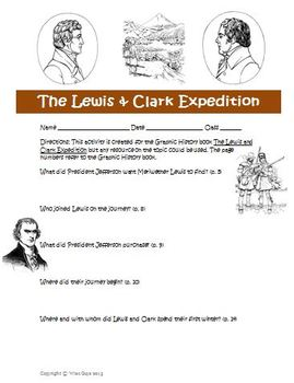 Graphic History: Lewis and Clark Expedition Activity and A