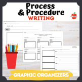 Graphic Organizer Process and Procedure Writing : transiti