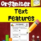 Graphic Organizer aligned to Common Core Reading (Text Features)