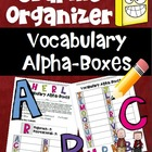 Graphic Organizer aligned to Common Core Reading (Vocabula