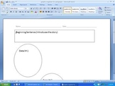 Graphic Organizer for Writing a Paragraph