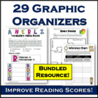 Graphic Organizers Bundle aligned to Common Core Reading (25+)