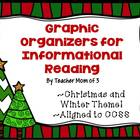 Graphic Organizers for Informational Reading  Christmas an