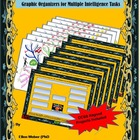 Graphic Organizers for Multiple Intelligence Tasks - CCSS Aligned