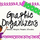 Graphic Organizers for the 4 Types of Writing
