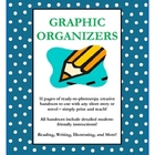 Graphic Organizers for use with ANY novel or short story!