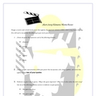 Graphic Representation:Short Story Literary Elements Movie Poster