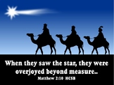 Graphics: 55 copyright free Christmas scripture .JPEGS