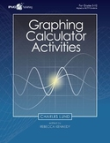 Graphing Calculator Activities Math Game Resource Book