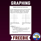 Graphing Horizontal and Vertical Lines Worksheet