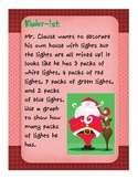 Graphing K-5 HOLIDAY Math Activity