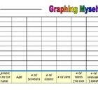 Graphing Myself (can be used on the 1st day of school)