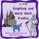 Free Graphing, Rhyming Words, Read the Room, Puzzles - Med