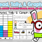 Graphing, Tally Marks &amp; Counting (Common Core)