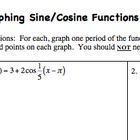 Graphing sine &amp; cosine functions