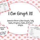 Graphs! Frequency, Picture, Tally and Bar Graph Activity