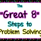 Great 8 Steps to Problem Solving