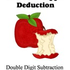 Great Apple Deduction - Double Digit Subtraction - Easy to