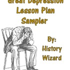Great Depression Lesson Plan Collection (Worksheet, Mappin