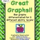 Great Graphs! {Differentiated to 3 levels}