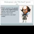 Great Shakespeare and the Theatre in his Time Power Point