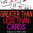 Greater Than Less Than Cards