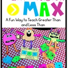 Greater Than Less Than with Max the Math Monster