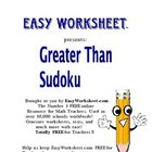 Greater Than Sudoku -- Practice inequalities with sudoku!