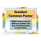 Greatest Common Factor ActivInspire Flipchart