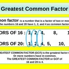 Greatest Common Factor for Visual Learners