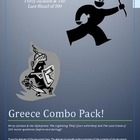 Greece Combo Pack: Percy Jackson Activities (4) &amp; The Last