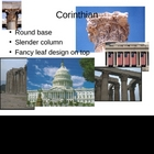 Greek Column Architecture Power Point