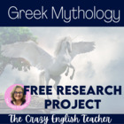 Greek Festival : Mythology Research Project