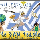 Greek Mythology Clip Art: Custom Graphics Collection Set #2