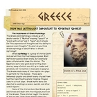 Greek Myths &amp; their importance Greece by Don Nelson