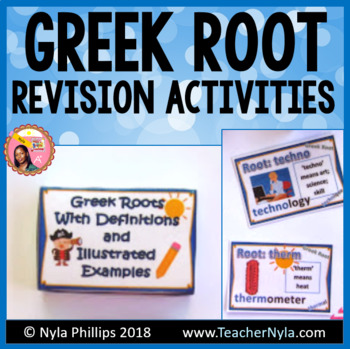 Greek Roots - Illustrated Definitions and Examples