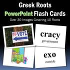 Greek Roots PowerPoint Flash Cards-Part 2
