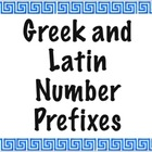 Greek and Latin Number Prefix PowerPoint