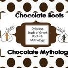 Greek and Latin Root/Prefix &amp; Suffix Common Core Chocolate