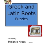 Greek and Latin Roots Puzzles