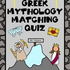 Greek and Roman Mythology Quiz
