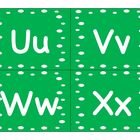 Green Dots Word Wall Words