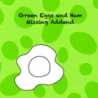 Green Eggs and Ham CCSS missing addend