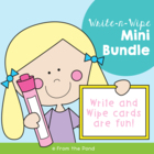 Write and Wipe Cards Mega Pack 1