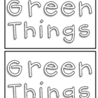 Green Things Sight Word Practice {Freebie}